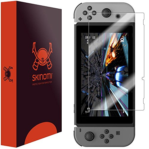 Nintendo Protector Skinomi TechSkin Coverage Anti Bubble