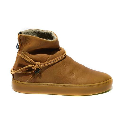 549984b6cd Satorisan Silver Lake sneakers donna pelle cuoio nuovo: Amazon.it ...