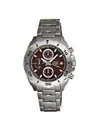 J. Springs Bfd042 Chronograph Mens Watch, Brown Jspbfd042