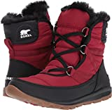 Sorel Women's Whitney Short Lace Boot Red Element 9.5