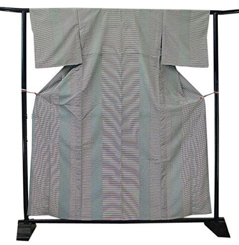 博多着物市場 きものしらゆり 単衣 洗える ポリエステル 小紋 仕立て上がり