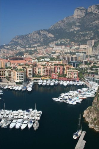 luxury-yachts-in-the-harbor-and-view-of-monte-carlo-monaco-journal-150-page-lined-notebook-diary