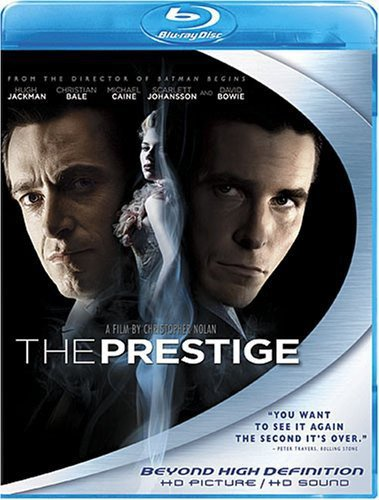 The Prestige [Blu-ray] (Bowie 7 Picture Disc)