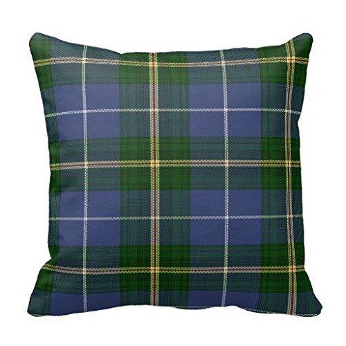 Nova Scotia Tartan Plaid Decorator Throw Pillow
