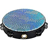 10 inch Remo Pinwheel Double Jingle Tambourine