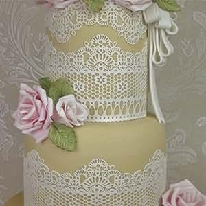 Claire Bowman Cake Lace Mat Chantilly Lace Large Mat