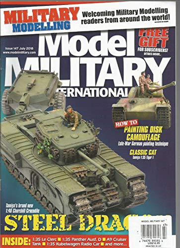 MODEL MILITARY INTERNATIONAL MAGAZINE #147 JULY 2018 ()