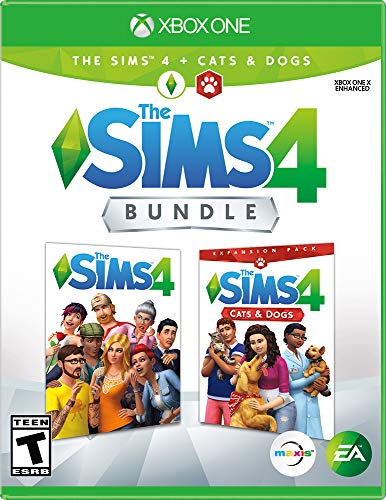The Sims 4 Plus Cats and Dogs - Xbox One [Digital Code]