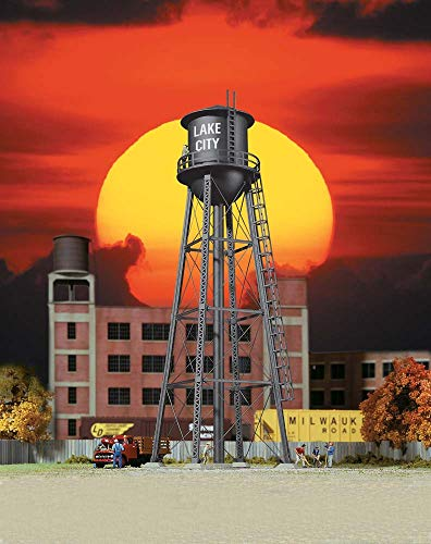 Walthers, Inc. City Water Tower, 2-3/8 X 7
