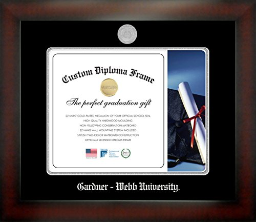 Gardner – Webb University 11 x 14 Mahogany Finish Infinity Diploma Frame by Celebration Frames by Celebration Frames