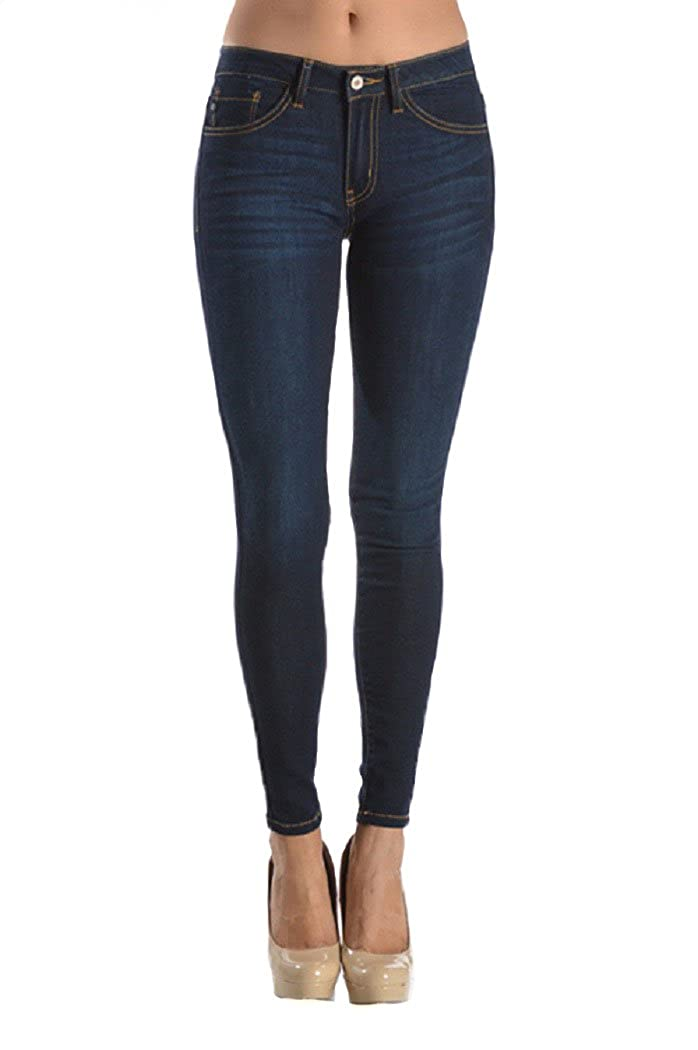3602f90fdb KanCan Plus Size Super Skinny Dark Wash Jeans (KC7092B) (2XL) at Amazon  Women s Jeans store