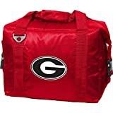 Georgia Bulldogs Official NCAA 14 inch 12 Can Insulated Cooler by Logo
