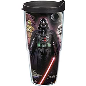 Tervis Lucas Films Star Wars Collage Poster Tumbler with Wrap, 24-Ounce
