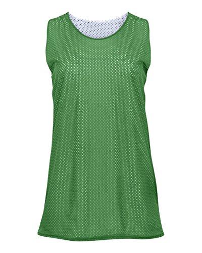 Ladies Reversible Tank Top - Kelly Green/White Ladies XL Reversible Mesh Tank Top Jersey Uniform