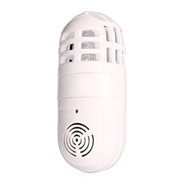 Amazon.com : RoseSummer White Ultrasonic Electronic Mosquito Pest Killer Insect Trap Atomic Bug Zapper Cockroach Repeller : Garden & Outdoor