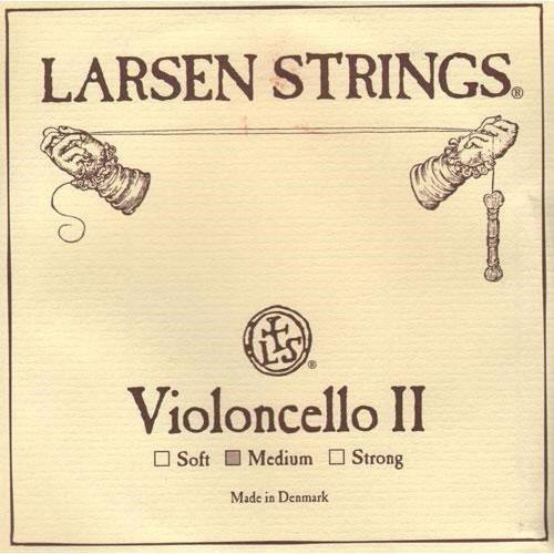 Larsen Cello D String - 4/4 size - Medium Gauge