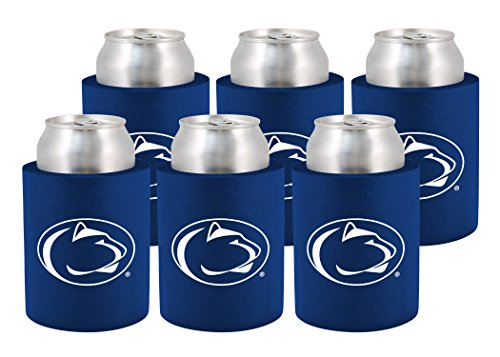 NCAA Penn State Nittany Lions Phoozie Set, 6-Pack, Navy Blue/White