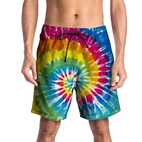 Lâche Nouveau Hommes Mode Occasionnels Adeshop Élasticité Taille De 1 Court Shorts Grande Imprimé D'été Graffiti Multicolore Pantalons Sportswear Plage 3d Casual Travail Pantalon PHqFdH