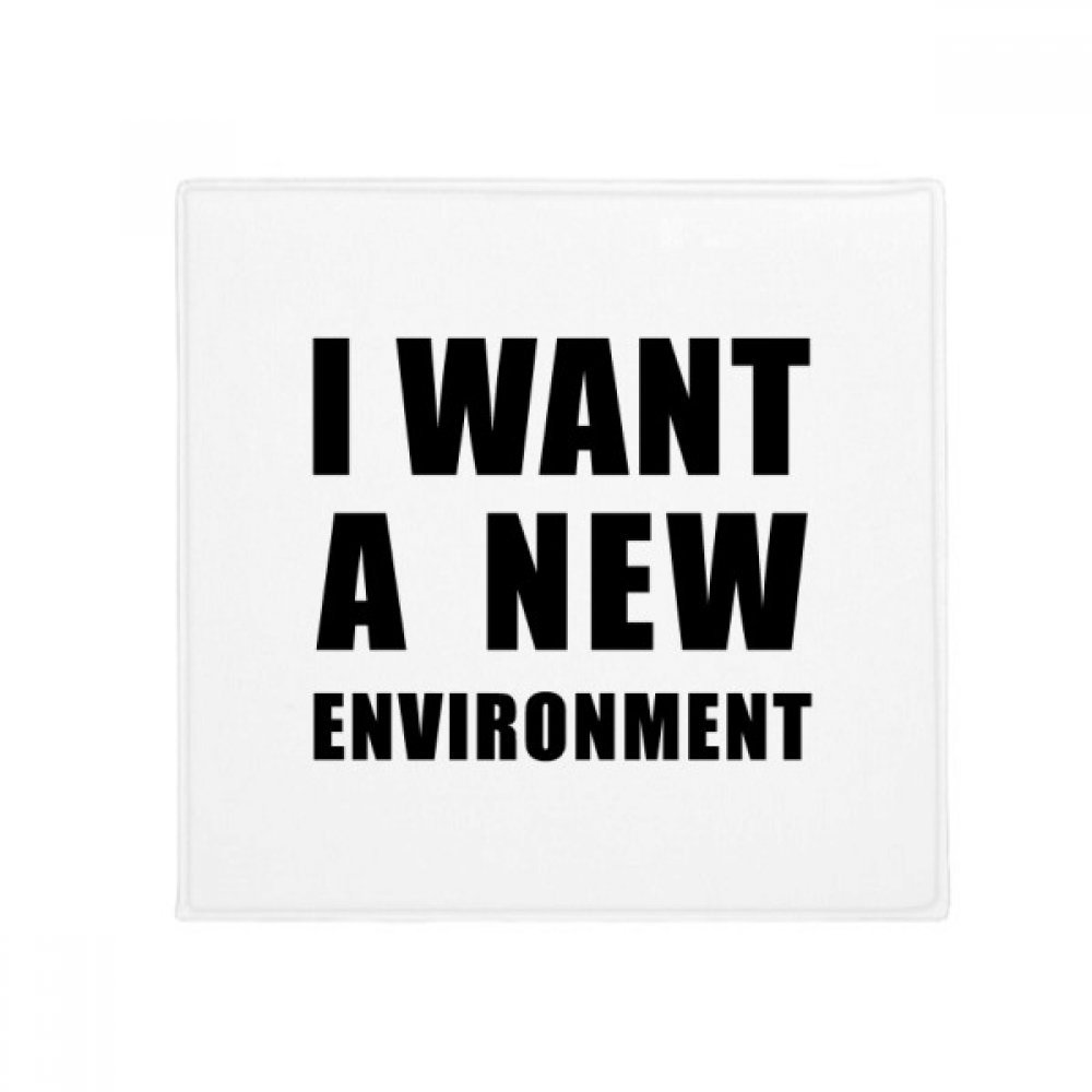 DIYthinker I Want A New Environment Anti-Slip Floor Pet Mat Square Home Kitchen Door 80Cm Gift