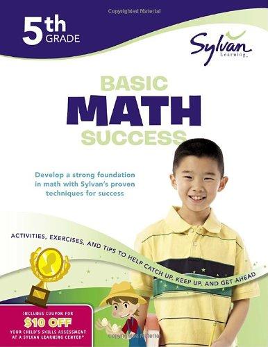 Fifth Grade Basic Math Success (Sylvan Workbooks) (Sylvan Math Workbooks)