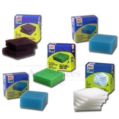 Juego de 5 Juwel Compact Filtro Esponjas: Amazon.es: Productos para mascotas