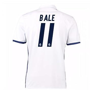 9292021d873 UKSoccershop 2016-17 Real Madrid Home Shirt (Bale 11)  Amazon.fr ...