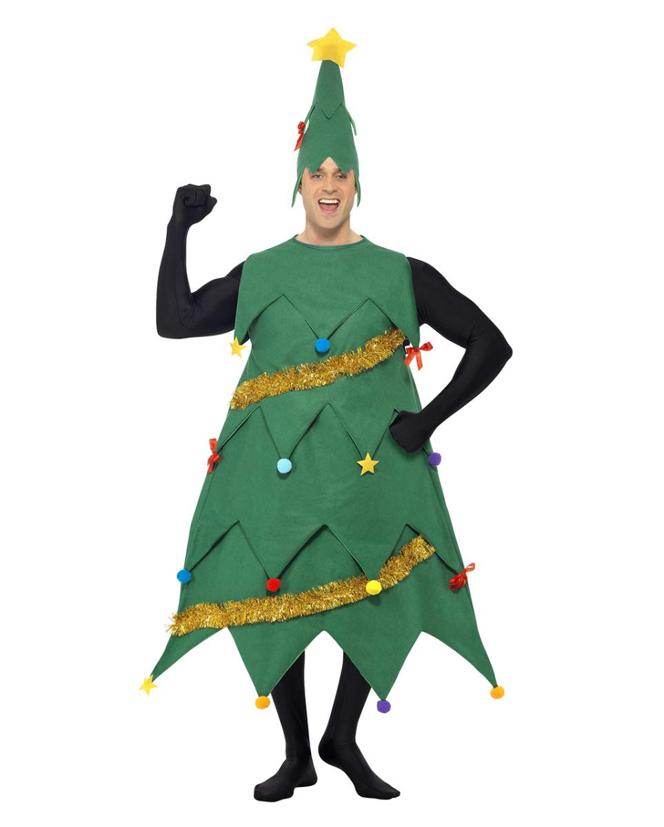 One Size HorrorShop Christmas Tree Costume One Size
