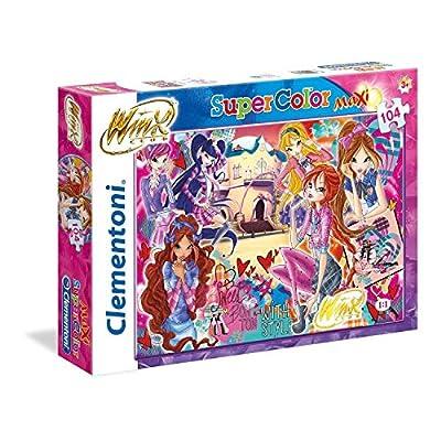 Clementoni Puzzle Winx 104 Maxi Pezzi Multicolore 23724