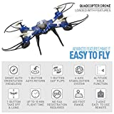 National-Geographic-Quadcopter-Drone-With-Auto-Orientation-and-1-Button-Take-Off-for-Easy-Drone-Flight-360-Degree-Flips-Altitude-Hold-Great-for-Kids-and-New-Pilots-Includes-USB-Charging-Cable