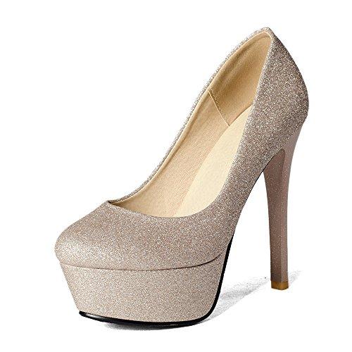 Fashion HeelCourt Pumps - Zapatos de Tacón mujer dorado