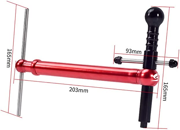 Bike Calibration Tools-Bike Tail Hook Calibration Tools Derailleur Hanger Alignment Gauge for Mountain Bicycle