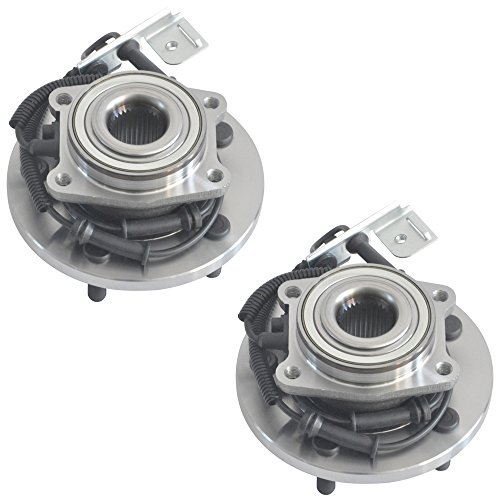 [DRIVESTAR 513273X2 (Pair) New Front Wheel Hub & Bearing for Town & Country Grand Caravan Routan] (Country Front Hubs Bearings)