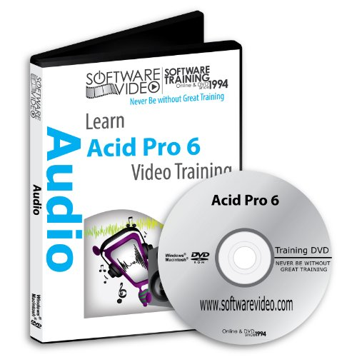 Software Video Learn Acid Pro 6 Training DVD Sale 60% Off training video tutorials DVDOver 5 Hours of Video Training