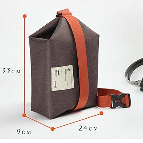 GEHEN Rucksack Chest Männer Tasche Canvas Männer Umhängetasche Messenger Bag Korean Oxford Messenger Bag Rucksack Weinlese,A A