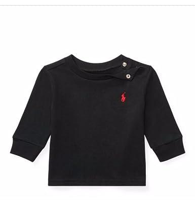 Ralph Lauren Baby Boy Long Sleeve T Shirts Authentic 9m Amazon Co