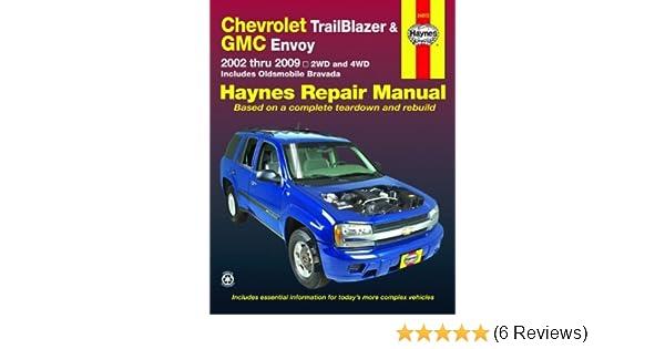 chevrolet trailblazer and gmc envoy 2002 2009 haynes repair manual rh amazon com 2004 GMC Envoy Wiring-Diagram 2004 GMC Envoy Fog Lights Switch