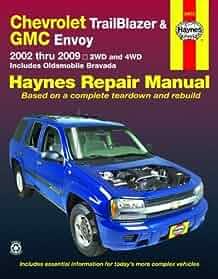 chevrolet trailblazer and gmc envoy 2002 2009 haynes repair manual rh amazon com Haynes Repair Manual Online View Haynes Repair Manuals Online