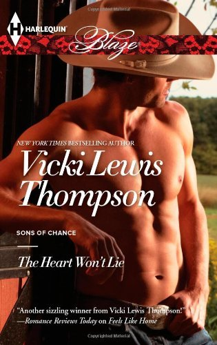 Download By Vicki Lewis Thompson The Heart Won't Lie [Mass Market Paperback] pdf epub