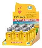 red ace organic beet juice - Red Ace Organic Beet And Turmeric Shot - 12 unit box
