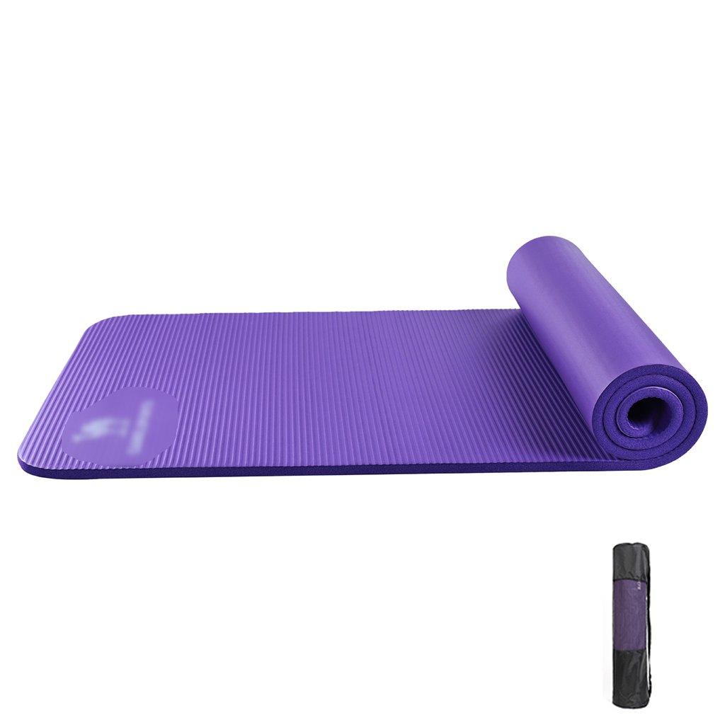 JianMeiHome Alfombra de Yoga Antideslizante Gimnasia Gruesa ...