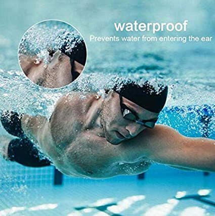 5Pairs 10Pcs Reusable Soft Comfortable Waterproof Soundproof Flexible Silicone Ear Plugs for Swimming Learning Working Shooting Sleeping Hearing Protection Adult Child
