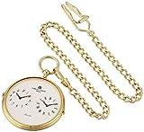 Charles-Hubert, Paris 3970-G Classic Collection Analog Display Quartz Pocket Watch