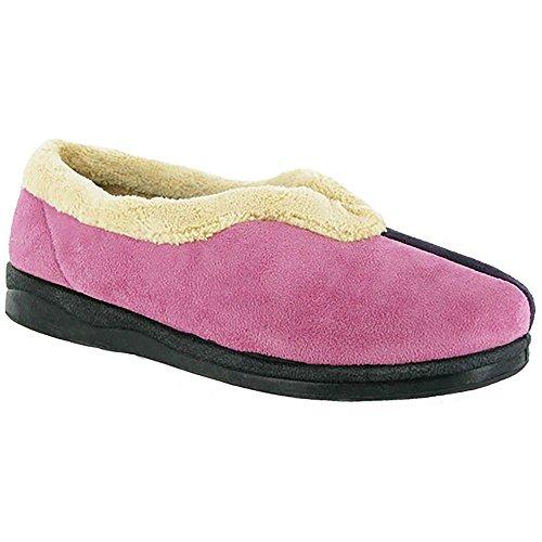 Pantofole Da Donna Mirak Jenny / Classiche Pantofole Da Donna Marrone