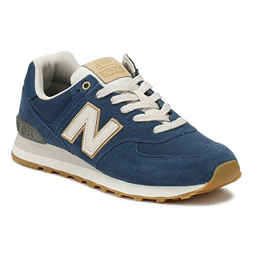 Sneaker Blu Uomo New ML574OU Balance wpSS8q6Ex