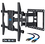 6 axis robot arm - Mounting Dream MD2126 TV Wall Mount Bracket with Full Motion Articulating Arms for most 42-70'' LED, LCD, OLED, Flat Screen and Plasma TVs up to VESA 600mm and 100 LBS, with Tilt, Swivel and Rotation