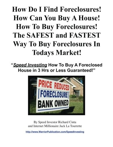 Read Online How Do I Find Foreclosures  How Can You Buy A House  How To Buy Foreclosures! PDF