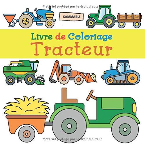 Livre De Coloriage Tracteur Pour Les Enfants De 2 Ans Amazon Fr
