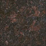 "4""x2.5""Tan Brown From India color sample natural granite . Used for granite kitchen or bathroom countertops or tile ."