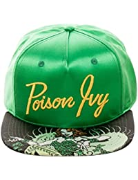 DC Comics Poison IVY Satin Snapback Baseball Hat