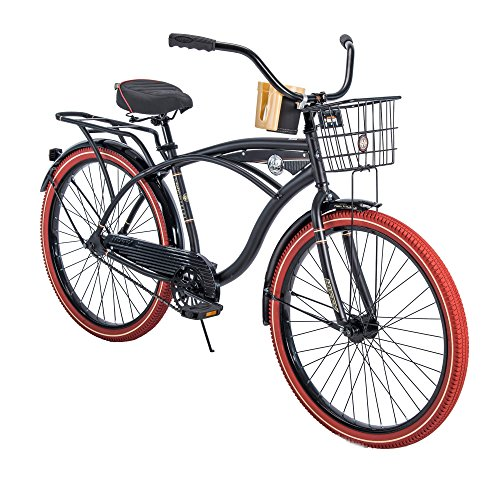 Men's Cruiser Bike, PIANO BLACK hot new color! ()
